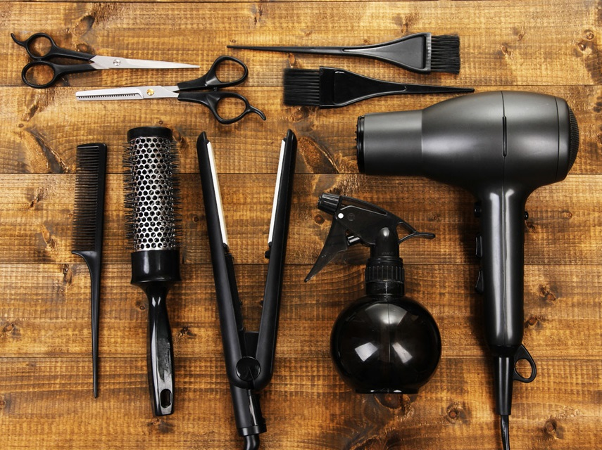 high-tech hair tools